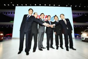 北京モーターショーでのフォトセッション