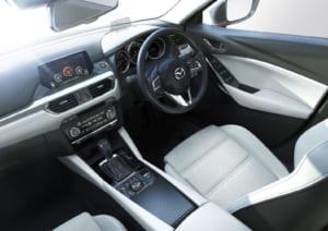 Mazda6改良モデルインテリア
