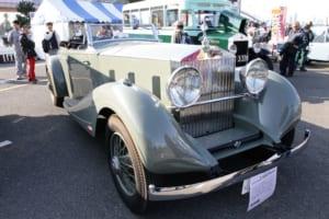 ロールスロイス ファントムⅡ(9MW/1933) 1980年代前半からレストアされ、2013年には車検も取得した濱氏の名車