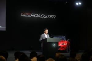 マツダの小飼雅道社長兼CEOが4代目ロードスターまでの道程を語った