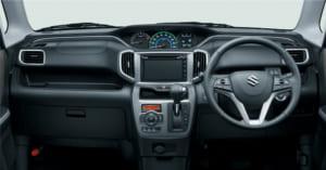 ソリオ HYBRID MZ デュアルカメラブレーキサポート・全方位モニター付メモリーナビゲーション装着車 インパネ