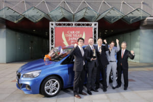インポートカー部門を受賞したBMW 2シリーズ