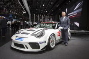 911 GT3 CupとポルシェAG会長のヴォルフガング・ポルシェ