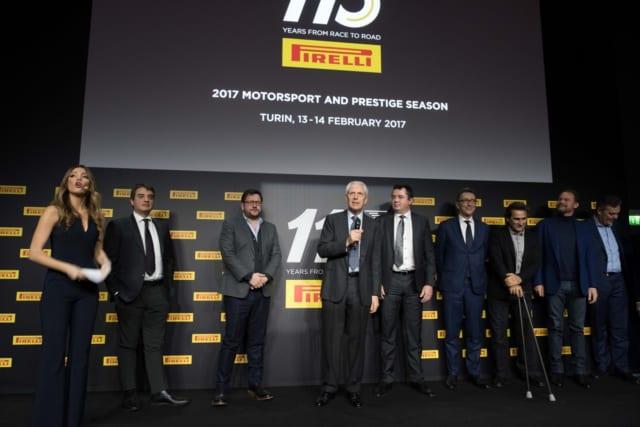 ピレリ、モータースポーツ活動110周年を祝う