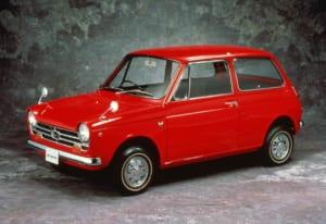 1967年に発売された、ホンダ初の量産軽自動車N360