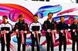 小林可夢偉、脇阪寿一、中嶋一貴などモータースポーツ界のスターが駆けつけ、彩りを添えた