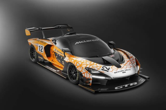サーキット専用モデル、マクラーレン セナ GTR