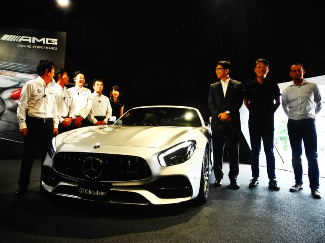 メルセデス AMG GT C ロードスター
