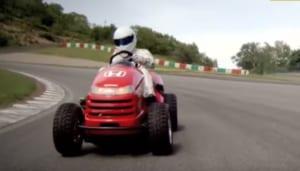 スティグ,世界最速芝刈り機