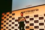 レーシングドライバーの小林可夢偉選手がサイバーナビの魅力をアピール