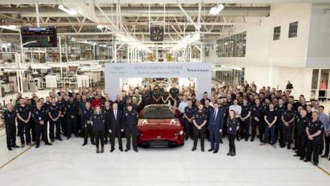 アストンマーティン 新型ヴァンテージ生産開始