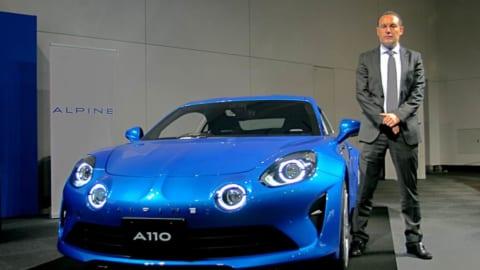 アルピーヌ A 110 ピュアエディションとアルピーヌ・ジャポントマ ビルコCOO