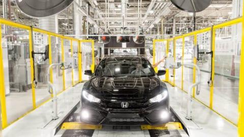 2022年に閉鎖することが決定した英国スウィンドンのホンダ工場