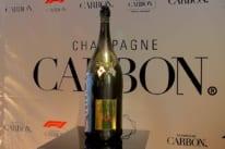 2017年からF1の公式シャンパンとなった、シャンパン カーボン