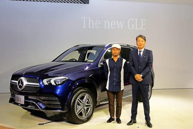 新型メルセデス・ベンツ GLE 450 4MATIC スポーツ(ISG搭載モデル)