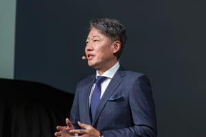 代表取締役兼CEOの上野金太郎氏