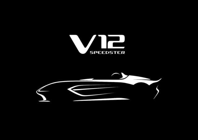 アストンマーティン V12 Speedster リミテッド・エディション