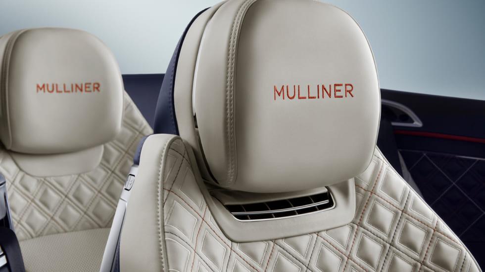 40万針のキャビンステッチは精緻の極み コンチネンタル GT マリナー コンバーチブル